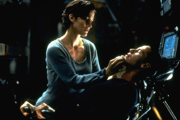 Keanu Reeves Matrix Carrie Ann Moss