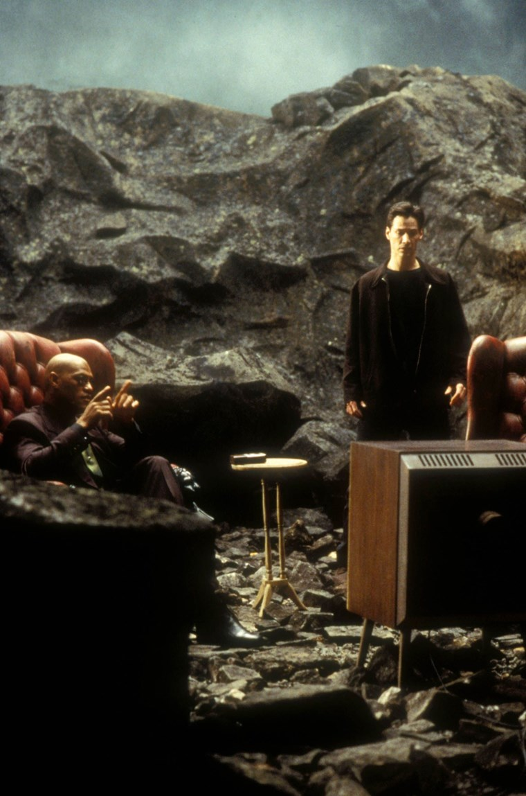 Laurence Fishburn Keanu Reeves 12 Matrix