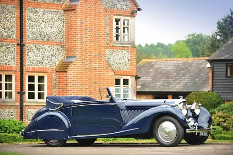 ΑΥΤΟΚΙΝΗΤΑ ΤΖΕΙΜΣ ΜΠΟΝΤ Η Bentley Gurney NuttingDHC του 1937 από το Never Say Never Again