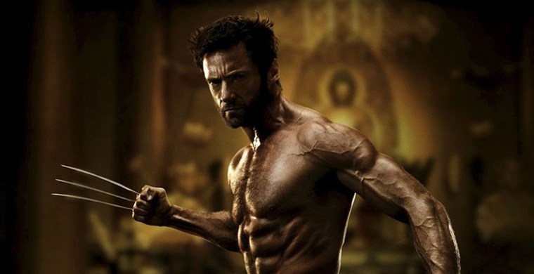 Hugh Jackman six pack