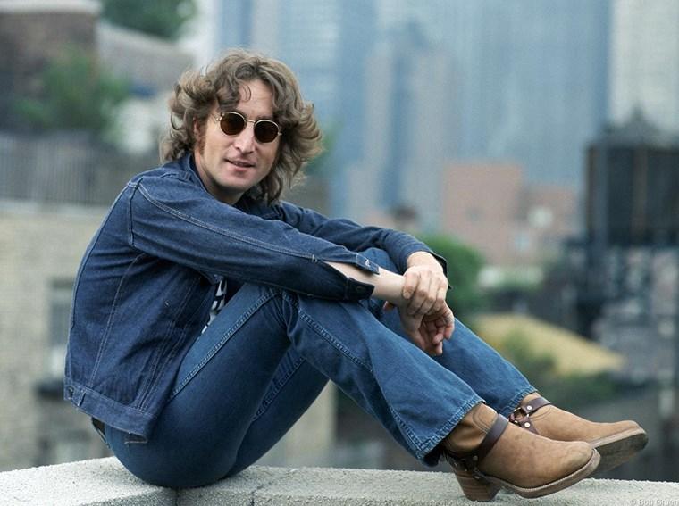 John Lennon τζην μπουφάν