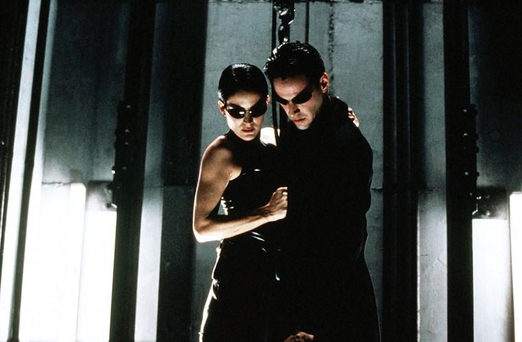 Keanu Reeves Matrix Carrie Ann Moss 2
