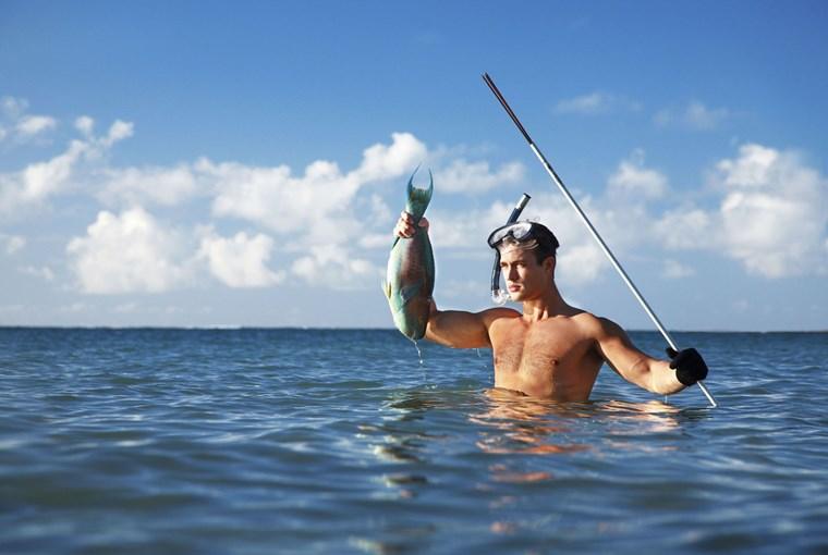 Οι πραγματικοί άντρες επιλέγουν το ψάρεμα