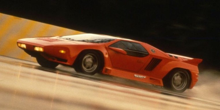 SUPERCARS ΤΩΝ 90S VECTOR W8