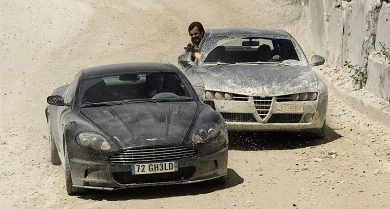 ΑΥΤΟΚΙΝΗΤΑ ΤΖΕΙΜΣ ΜΠΟΝΤ Η Aston Martin DBS V12 του 2008 από το Quantum of Solace