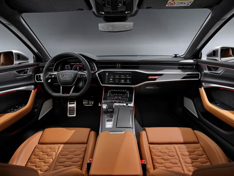 Design AUDI RS 6 AVANT εσωτερικό