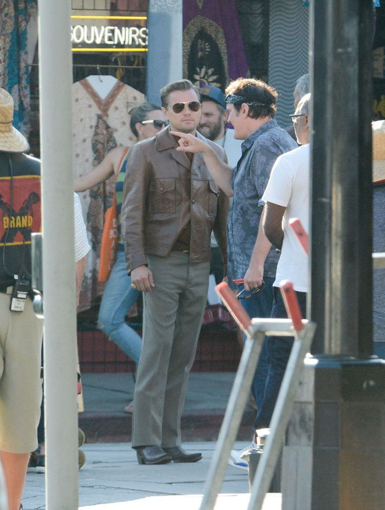 Tarantino Brat Pitt Once Upon a Time in Hollywood