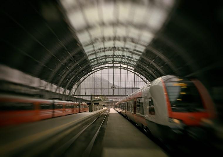 Νορβηγία τρένο