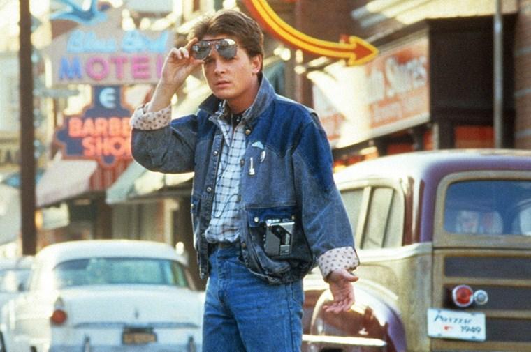 Michael J. Fox τζην μπουφάν