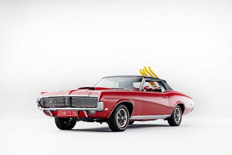 ΑΥΤΟΚΙΝΗΤΑ ΤΖΕΙΜΣ ΜΠΟΝΤ Το Mercury Cougar XR7 του 1969 από το On Her Majesty's Secret Service