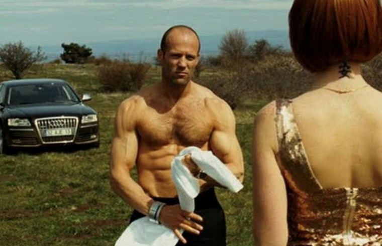 Jason Statham six pack