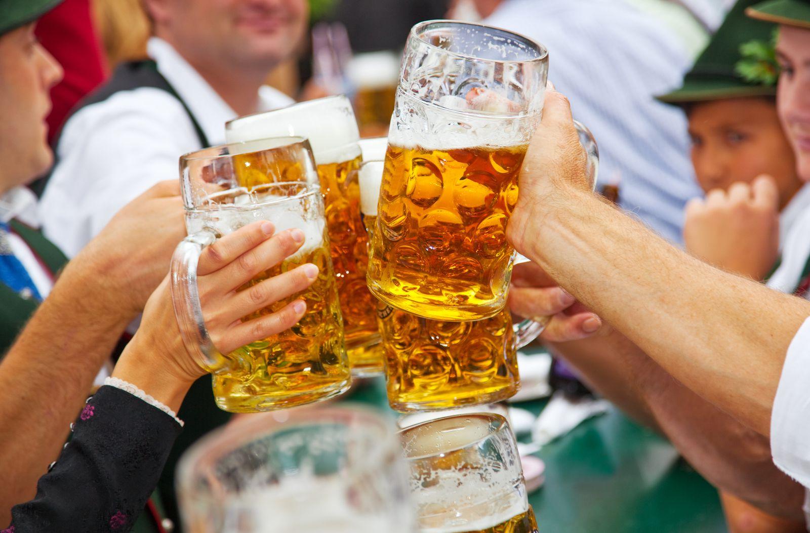 Oktoberfest μπύρες