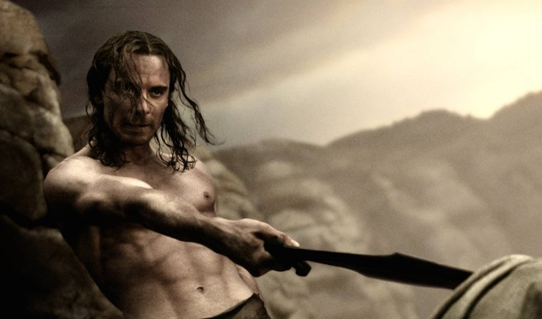 Michael Fassbender six-pack
