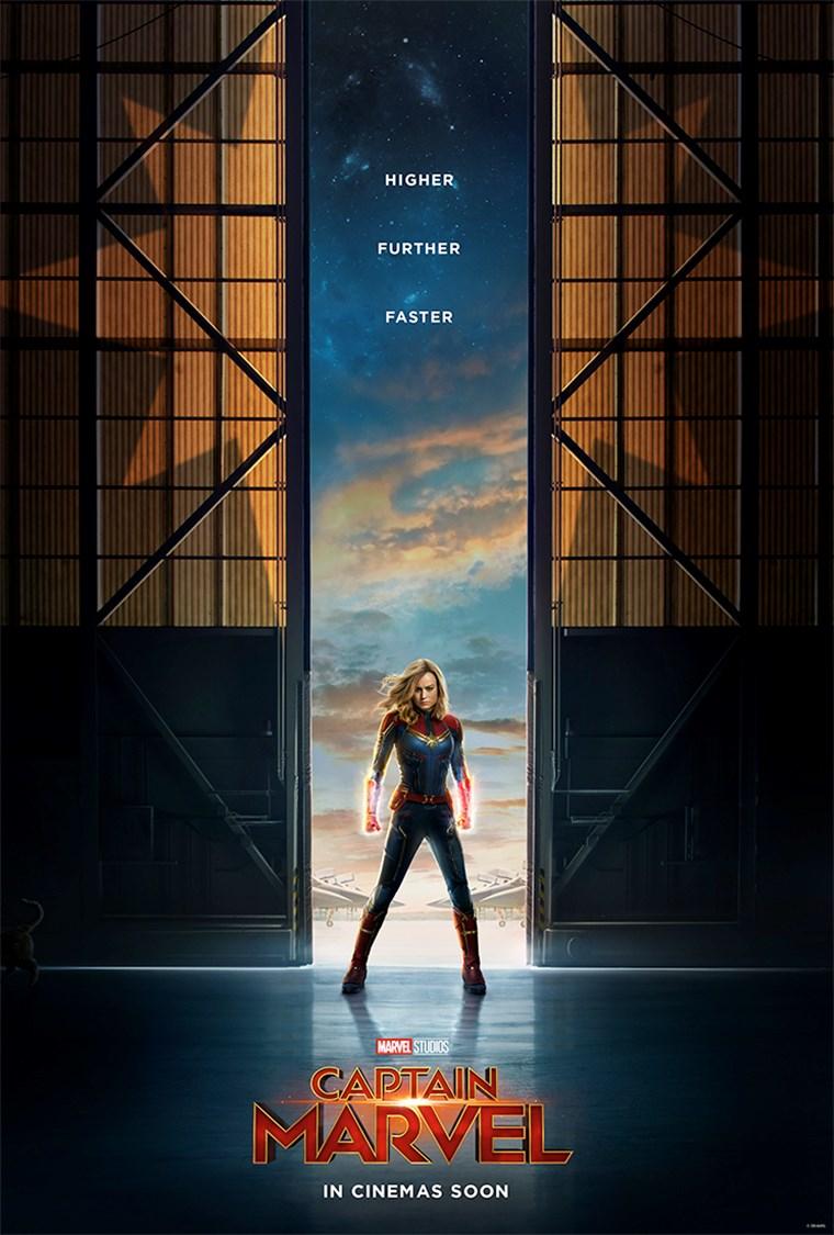 """Πρώτο εκκωφαντικό trailer για την """"Captain Marvel"""" Brie Larson"""