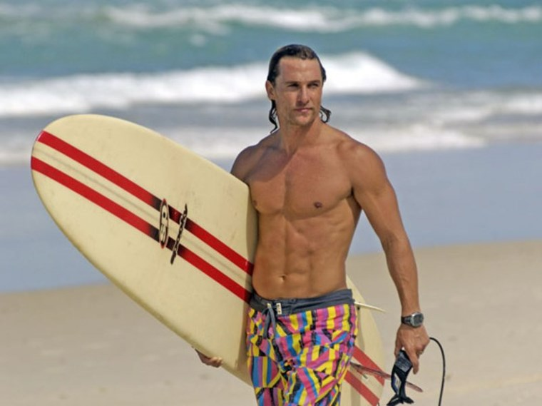 matthew mcconaughey six pack