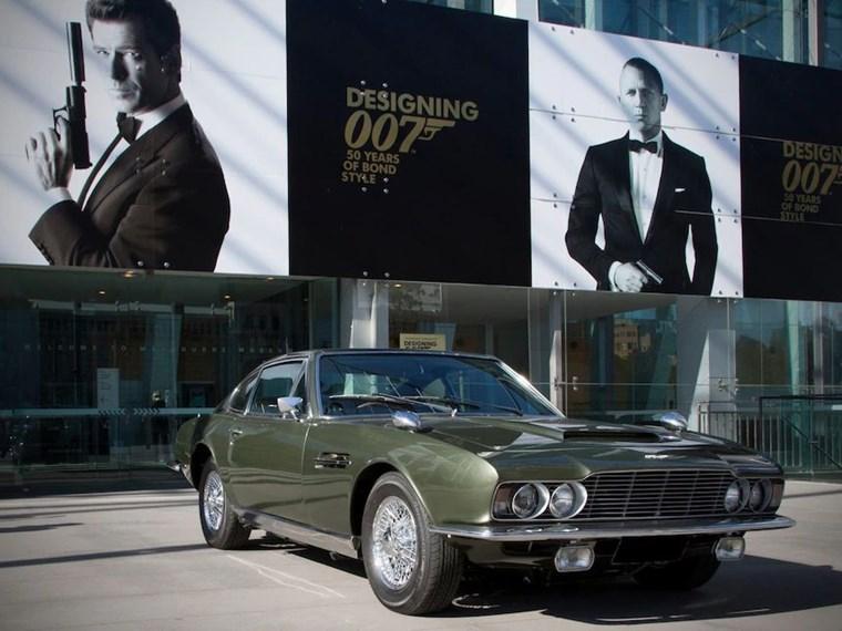 ΑΥΤΟΚΙΝΗΤΑ ΤΖΕΙΜΣ ΜΠΟΝΤ H Aston Martin DBS-6 του 1969 από το On Her Majesty's Secret Service