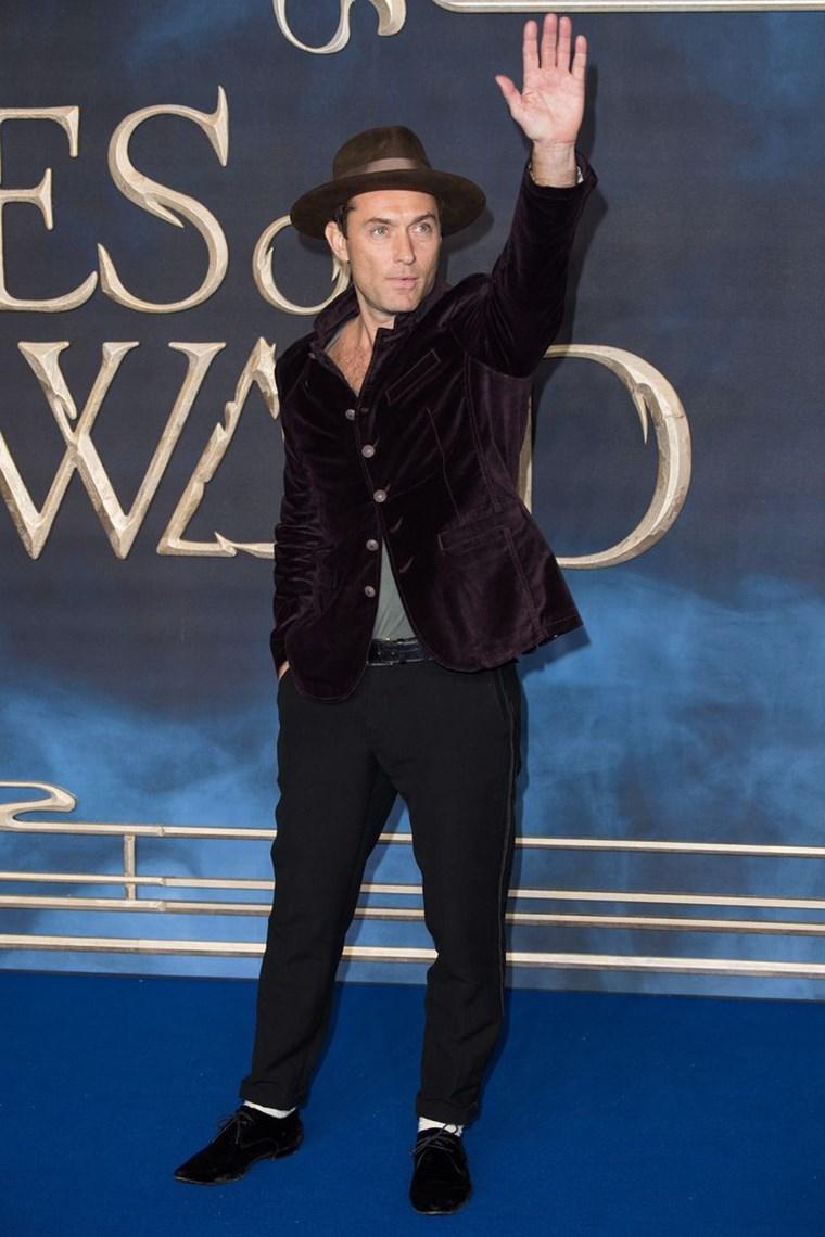 Η ιδιαίτερη ματιά του Jude Law στο αντρικό στυλ
