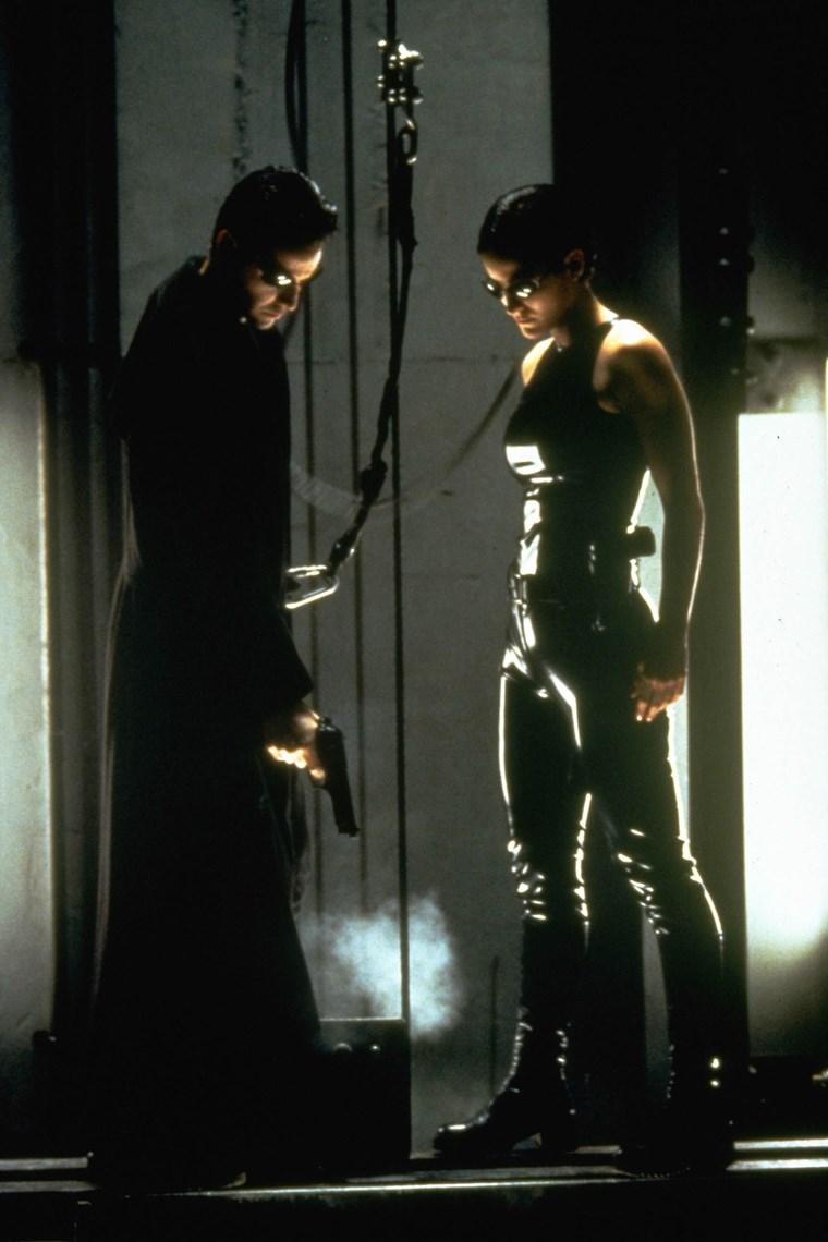 Carrie Ann Moss Keanu Reeves 5 Matrix