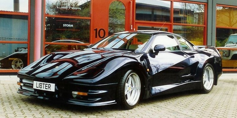 SUPERCARS ΤΩΝ 90S LISTER STORM