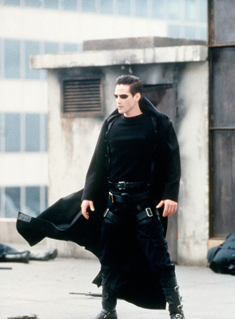 Keanu Reeves Matrix leather
