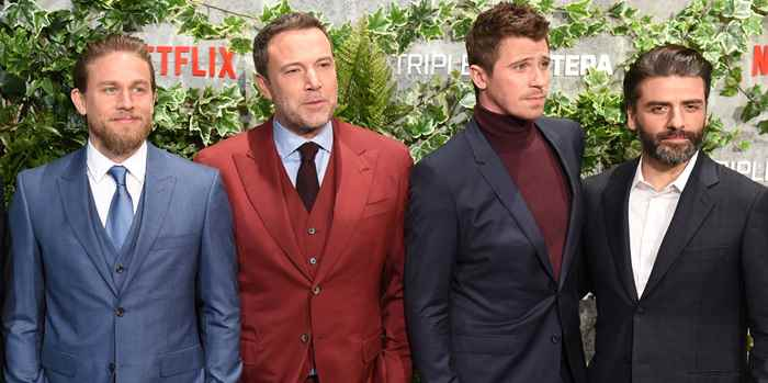 4 tailoring looks από τους πρωταγωνιστές του Triple Frontier