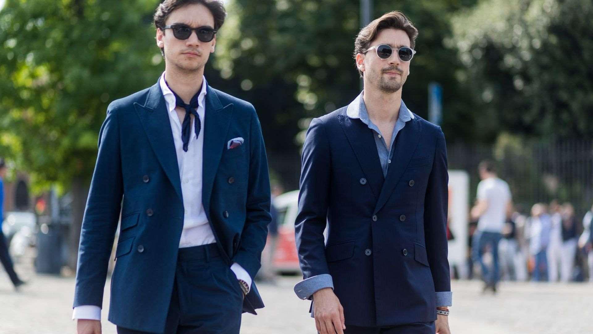 Ένα μπλε κοστούμι πρέπει να κρέμεται σε κάθε αντρική γκαρνταρόμπα cfaf8bdd4eb