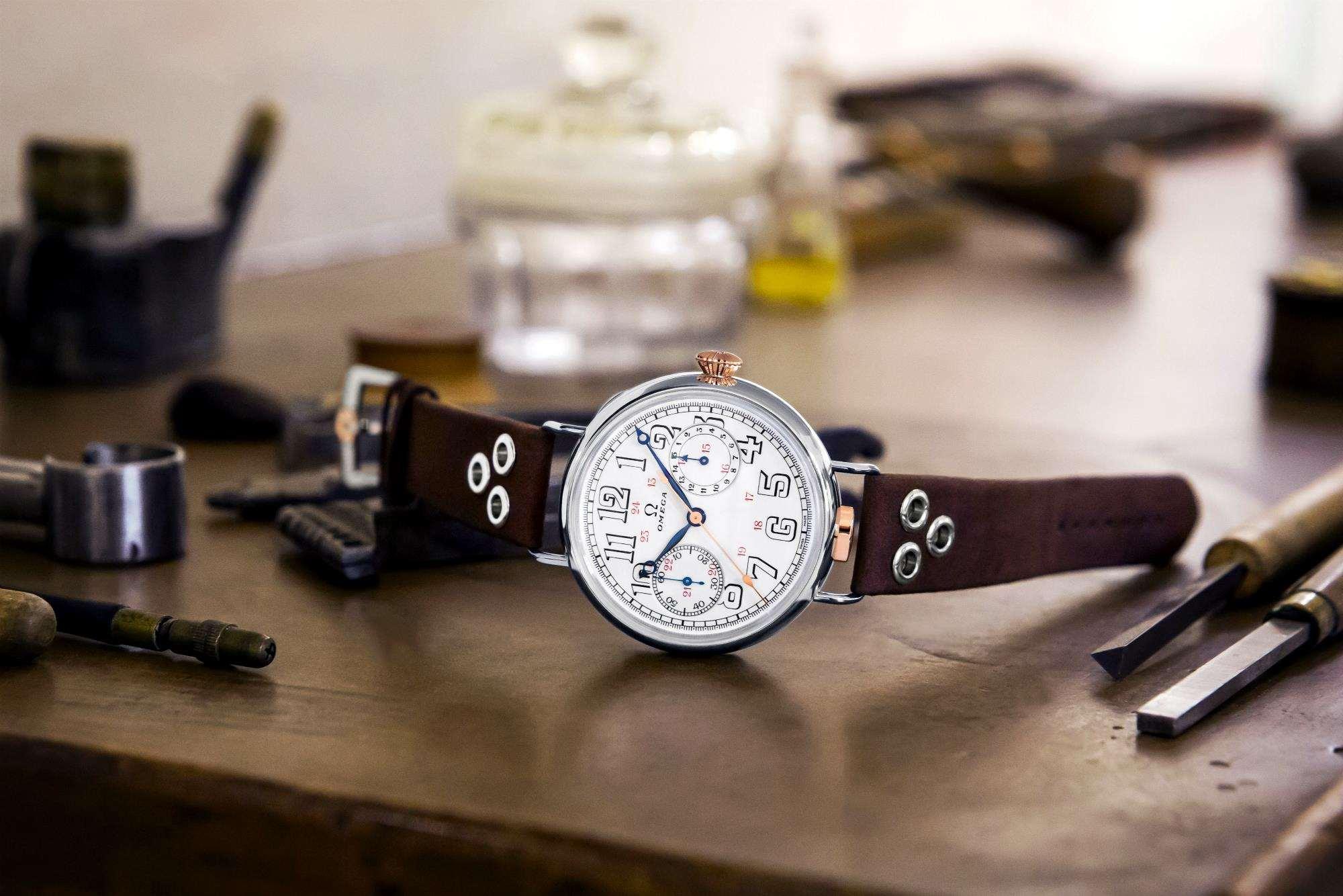d36f72b850 Η Omega επανακυκλοφορεί ένα στρατιωτικό ρολόι ηλικίας 105 ετών